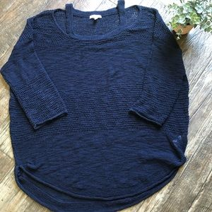 Women's Lightweight Semi-Cold shoulder sweater